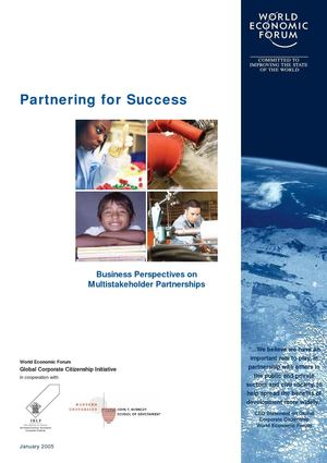 Partening for Success - World Economic Forum