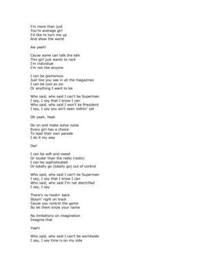 Ain seen nothin yet lyrics