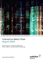 Interactive Media Flash August 2008