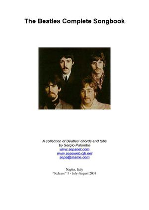 The Beatles Complete Songbook (Sheet Music - Guitar)