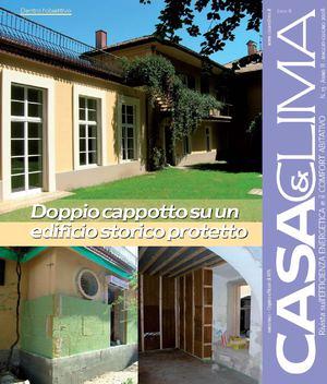 Calam o casa clima cappotto interno ed esterno su edificio storico - Cappotto casa interno ...