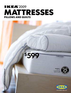 IKEA 2009 - Mattresses [US]