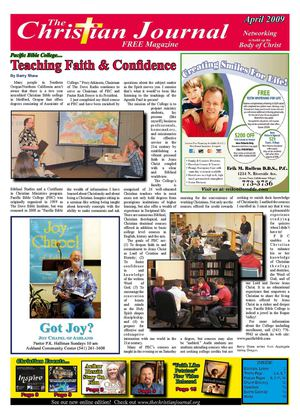 The Christian Journal - April 2009 Edition