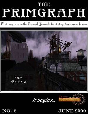 The Primgraph: Issue 6 - June 2009