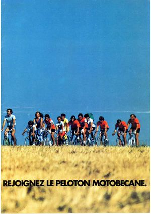 Motobécane catalogue vélos 1978