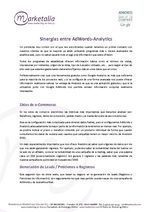 Sinergias entre AdWords-Analytics