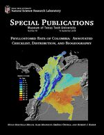Phyllostomid Bats of Colombia: Annotated Checklist, Distributions, and Biogeography