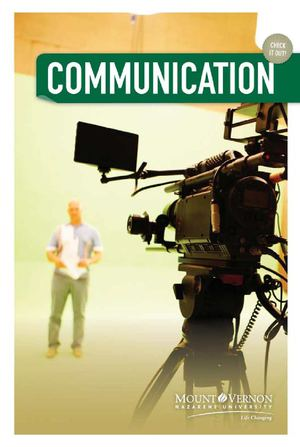 Communication Department Brochure