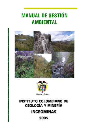 EJEMPLO MANUAL DE GESTION AMBIENTAL