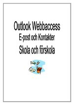 Outlook 2003 webbaccess skola