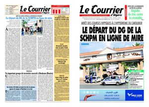Le Courrier d'Algerie du 03-01-10