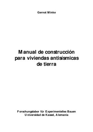 Manual CONSTRUCCION CON TIERRA ANTISISMICO