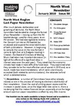 MMNW Newsletter Issue 50 Jan 2010 (A5)