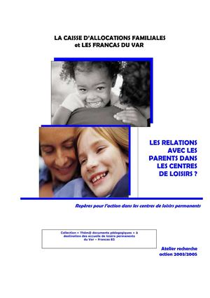 Document Parents centre de loisirs