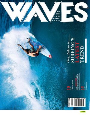 GLOBE SURF TEAM [WAVES PROFILE ISSUE]