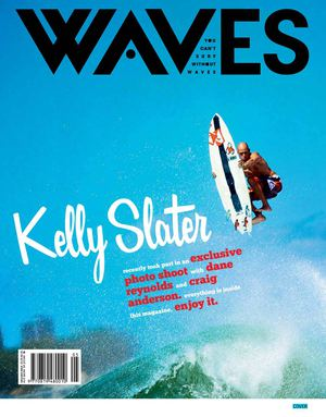 GLOBE SURF TEAM [WAVES EXCLUSIVE ISSUE]