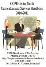 Cope Center North Curriculum and Services Handbook 2010-2011