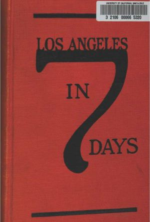 Los Angeles in 7 Days, Including Southern California
