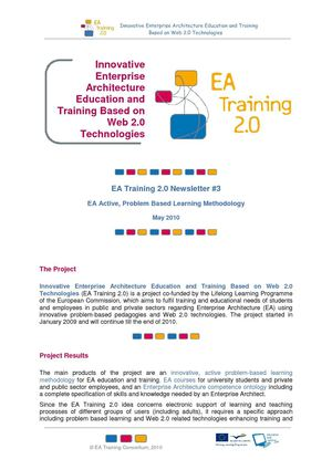EA Training 2.0 Newsletter #3 EA Methodology