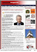 Duceppe begins the first leg of a cross-country tour to get Canadians' opinions about Quebec sovereignty _ Muchmor Magazine (6 April 2010)