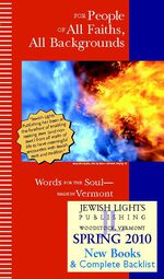 Jewish Lights Spring 2010 Trade Catalog