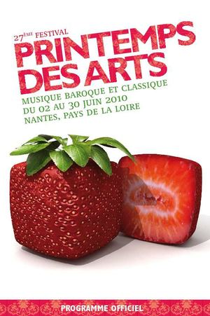 Printemps des arts 2010 / programme officiel