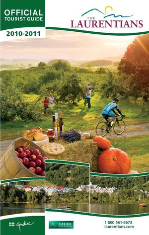 Official Tourist Guide 2010-2011 - Tourisme Laurentides