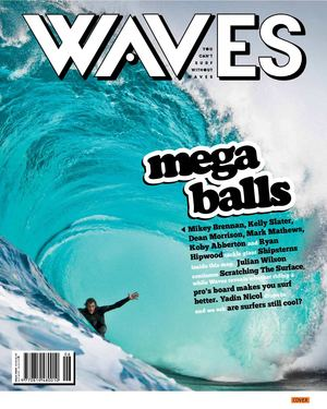 GLOBE SURF TEAM [WAVES BALLS ISSUE]