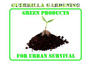 Green products - guerrillagardener.it (ENG)