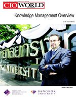 Knowledge Management Overview by Dr. Vincent M. Ribiere