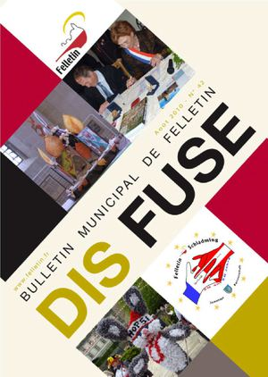 Dis Fuse n°42 - Aout 2010