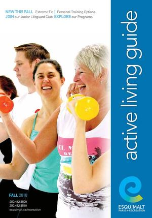 Esquimalt Parks and Recreation Active Living Guide Fall 2010