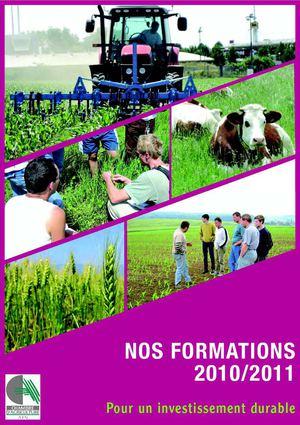 Calam o catalogue des formations 2010 2011 chambre d - Chambre d agriculture de l ain ...