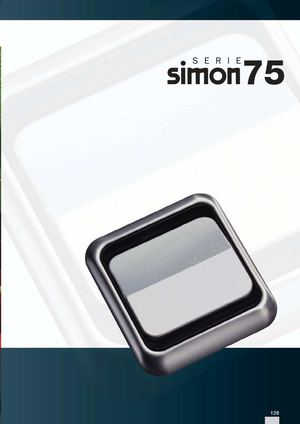 Calam o sim n serie 75 - Interruptor simon 31 ...
