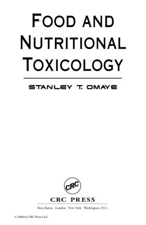Food_and_Nutritional_Toxicology