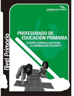 Calam o dise o curricular educaci n primaria for Diseno curricular primaria