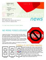 Investment News:  October 2010 - For Real Estate Investors & Landlords