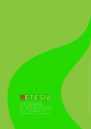 catalogue Etesia