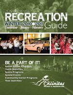 City of Encinitas Winter 2010-11 Recreation Guide Brochure