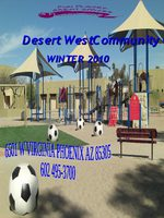 Desert West Community Center  Winter 2010 Brochure