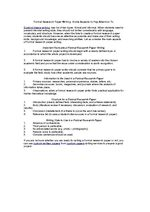 Formal academic research paper