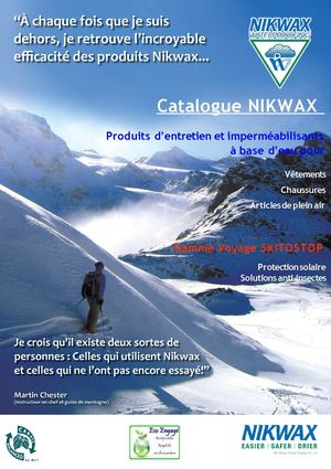 Catalogue NIKWAX
