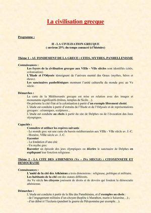 Histoire grece 6eme evaluation essay