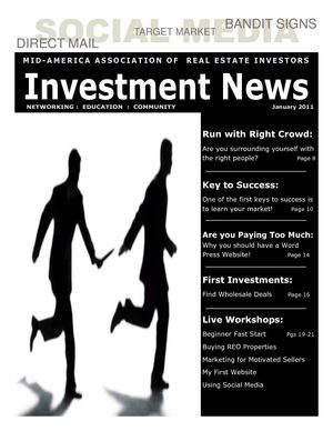 MAREI Investment News:  January 2011