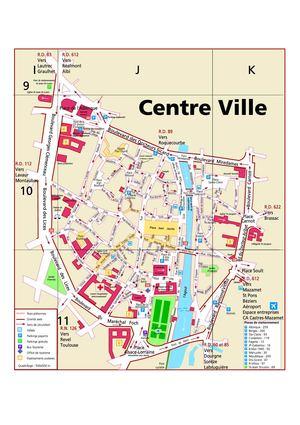 Hotel Centre Ville Castres