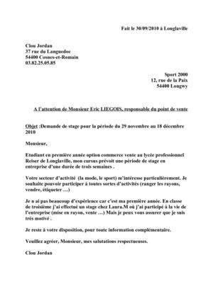 exemple lettre de motivation employe de rayon