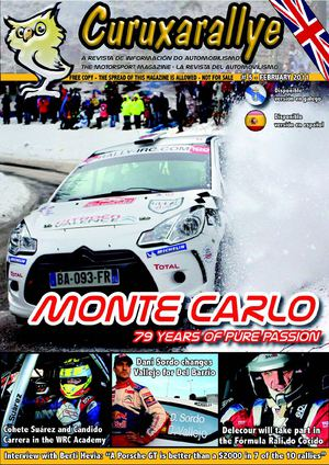 # 5. February 2011 - Curuxarallye®, The Motorsport Magazine