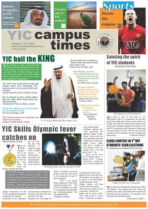 YIC CAMPUS TIMES