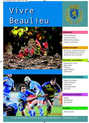 BULLETIN MUNICIPAL SEPTEMBRE 2010