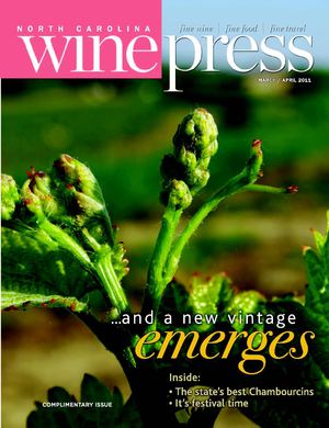 North Carolina Wine Press—March/April 2011